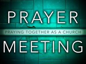 Réunions de prière en commun avec La Rencontre